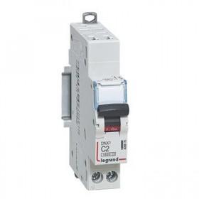 LEGRAND Disjoncteur DNX3 1P+NG Courbe C 2 4500A/6KA automatique LEGRAND 406876 406876