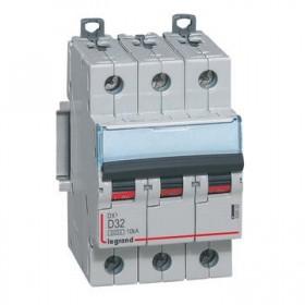 LEGRAND Disjoncteur DX3 3 pôles D32 6000A/10KA LEGRAND 408062 408062