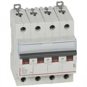 LEGRAND Disjoncteur DX3 4 Pôles D10 6000A/10KA LEGRAND 408116 408116