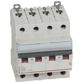 LEGRAND Disjoncteur DX3 4 Pôles D32 6000A/10KA LEGRAND 408120 408120