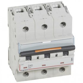 LEGRAND Disjoncteur DX3 3 pôles D40 25KA LEGRAND 409837 409837