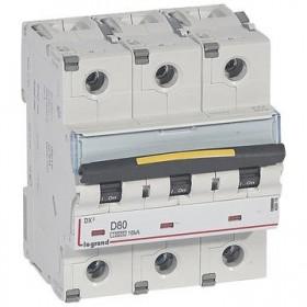 LEGRAND Disjoncteur DX3 3 pôles D80 10000A/16KA LEGRAND 409506 409506
