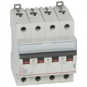 LEGRAND Disjoncteur DX3 4 Pôles D20 6000A/10KA LEGRAND 408118 408118
