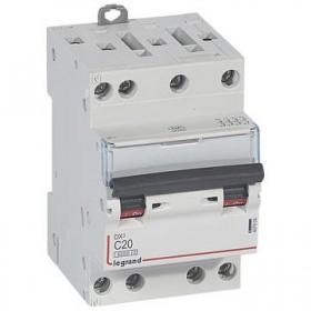 LEGRAND Disjoncteur DX3 4 Pôles courbe C 20 6000A/10KA 3 modules LEGRAND 407908 407908
