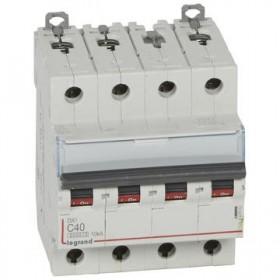 LEGRAND Disjoncteur DX3 4 Pôles courbe C 40 6000A/10KA LEGRAND 407902 407902