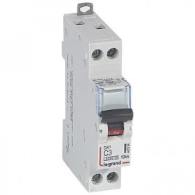 LEGRAND Disjoncteur DX3 1P+NG Courbe C 3 6000A/10KA LEGRAND 407694 407694