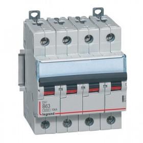 LEGRAND Disjoncteur DX3 4 Pôles B63 6000A/10KA LEGRAND 407601 407601