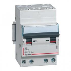 LEGRAND Disjoncteur DX3 4 Pôles courbe C 20 4500A/6KA automatique LEGRAND 406920 406920