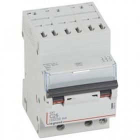 LEGRAND Disjoncteur DX3 3 pôles Courbes C 25 4500A/6KA automatique LEGRAND 406903 406903