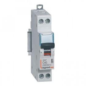 LEGRAND Disjoncteur DNX3 1P+NG Courbe C 40 4500A/6KA LEGRAND 406873 406873
