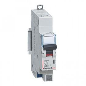 LEGRAND Disjoncteur DNX3 1P+NG Courbe C 2 4500A/6KA automatique LEGRAND 406780 406780