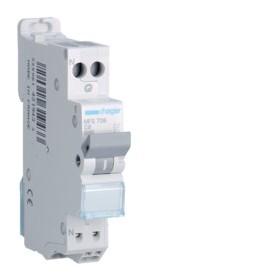 HAGER Disjoncteur Phase / Neutre 3kA C6A SanVis 1 Module MFS706