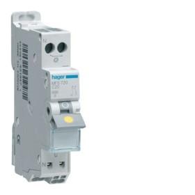 HAGER Disjoncteur Phase / Neutre 3kA C20A SanVis 1 Module MFS720