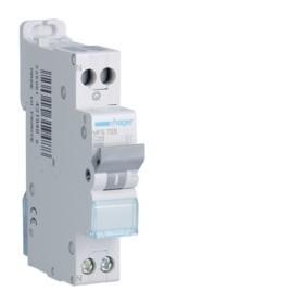 HAGER Disjoncteur Phase / Neutre 3kA C25A SanVis 1 Module MFS725