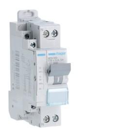 HAGER Disjoncteur fil pilote Phase / Neutre 3kA C10A 1.5 Modules MFN910