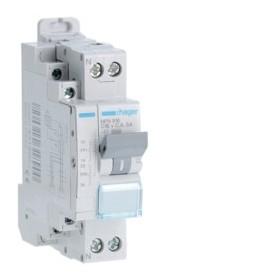 HAGER Disjoncteur fil pilote Phase / Neutre 3kA C16A 1.5 Modules MFN916
