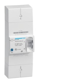 HAGER Disjoncteur Differentiel abonné 2 Pôles 15/45A 500mA selectif HDA245S