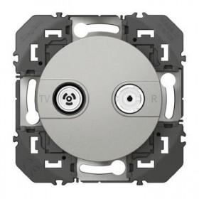LEGRAND Prisetv radio etoile blindee aluminiun dooxie legrand 600454 600454