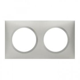 LEGRAND Plaque 2 postes aluminiunminium dooxie legrand 600852 600852