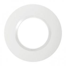 LEGRAND Plaque 1 poste deco blanc dooxie legrand 600980 600980