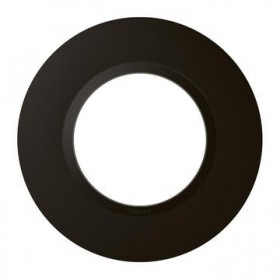 LEGRAND Dooxie plaque 1 poste noir velour dooxie legrand 600976 600976