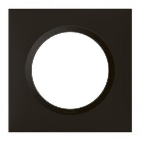 LEGRAND Plaque 1 poste noir velour dooxie legrand 600861 600861