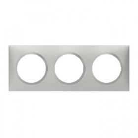 LEGRAND Plaque 3 postes aluminiunminium dooxie legrand 600853 600853