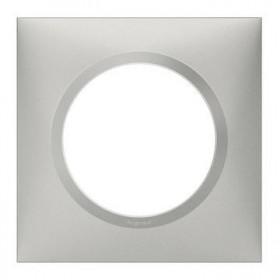 LEGRAND Plaque 1 poste aluminiunminium dooxie legrand 600851 600851