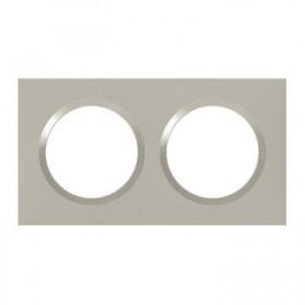 LEGRAND Plaque 2 postes plumineuxe dooxie legrand 600822 600822