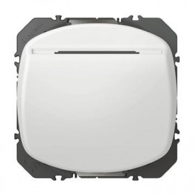 LEGRAND Interrupteur a badge blanc dooxie legrand 600033 600033