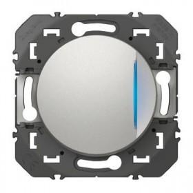 LEGRAND Interrupteur va et vient lumineuxineux aluminiun dooxie legrand 600111 600111