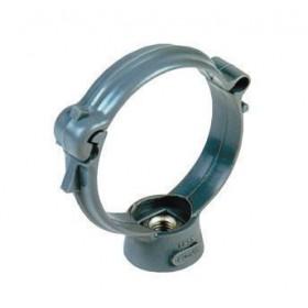 NICOLL Collier monobloc - 5CM50 - polypropylène gris - diamètre 50 mm - sachet de 5 pcs NICOLL 5CM50