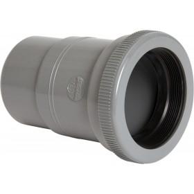 NICOLL Manchon de dilatation MF pour canalisation horizontale - MBH - PVC gris - diamètre 200 mm NICOLL MBH