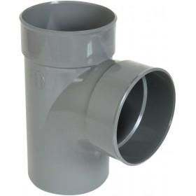 NICOLL Culotte MF simple 87°30 - BZ18 - PVC gris - diamètre 160 mm NICOLL BZ18