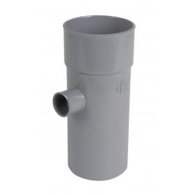 NICOLL Culotte simple MF 87°30 PVC gris - diamètre 100/75 mm NICOLL BT48