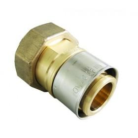 OVENTROP Raccord à sertir diamètre 50x4,5mm avec écrou d'accouplement 45x55 1512156 1512156