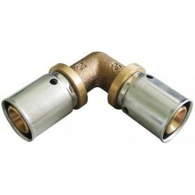 OVENTROP Coude à sertir 90° 32x32mm Réf. 1512849 1512849