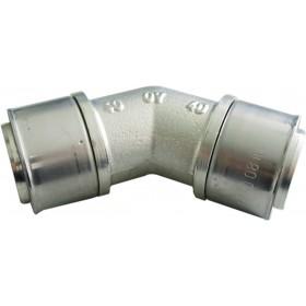 OVENTROP Coude à sertir 45° 40x40mm 1512951 1512951