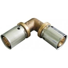 OVENTROP Coude à sertir 90 63x63mm Réf 1512853 1512853