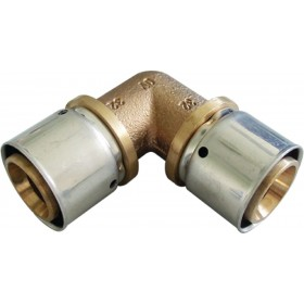 OVENTROP Coude à sertir 90° 40x40mm 1512851 1512851