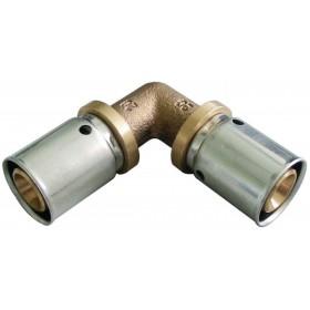OVENTROP Coude à sertir 90° 26x26mm Réf. 1512847 1512847
