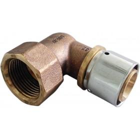 OVENTROP Coude à sertir 32x3,0mm-26x34 femelle 1512449 1512449