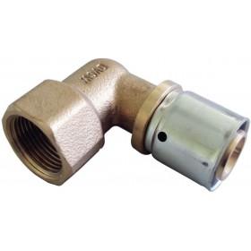 OVENTROP Coude à sertir 26x3,0mm 20x27 femelle 1512447 1512447