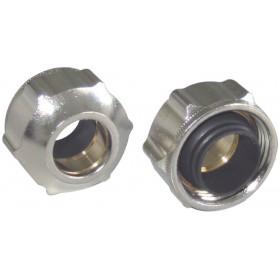 OVENTROP Raccord à serrage OFIX pour tube cuivre 15x21/10mm 1027154 1027154