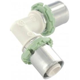 COMAP Raccords à sertir PPSU multicouche coude 90° D 20 mm 1 pièce Réf. P090L20 P090L20