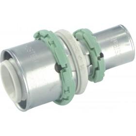 COMAP Raccords à sertir PPSU multicouche manchon réduit D 26-20 mm 1 pièce Réf. P240L2620 P240L2620