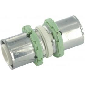 COMAP Raccords à sertir PPSU multicouche manchon D 20 mm 1 pièce Réf. P270L20 P270L20