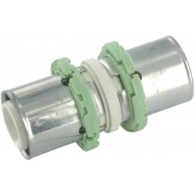 COMAP Raccords à sertir PPSU multicouche manchon D 32 mm 1 pièce Réf. P270L32 P270L32